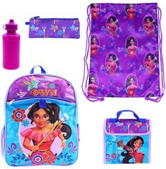 1be8fe9c2d Disney s Elena of Avalor 5-pc. Backpack Set  affiliate Heart For Kids