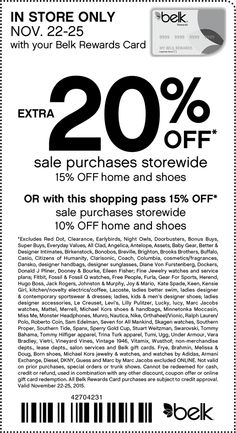 belk coupon belk promo code from the coupons app extra off sale items at belk november