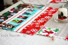 Are you ready for Christmas? Sew a Placemat & Coaster set for this coming Christmas, then cook up a storm for a great meal together with family and friends.
