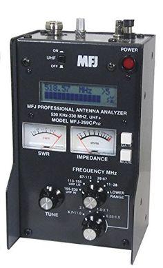 MFJ Enterprises Original MFJ-269CPRO .53-230 / 430 ~ 520 MHz Antenna / SWR / RF Analyzer w/ LCD, Counter