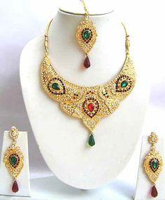 Diamond Bridal Jewelry Set JVS-1672