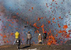 Tourists and lava by Денис Будьков on 500px