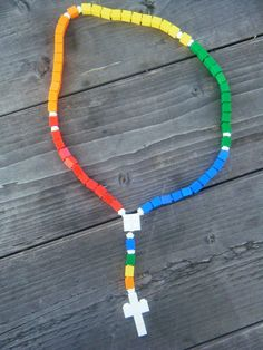 Lego Rosary and Giveaway