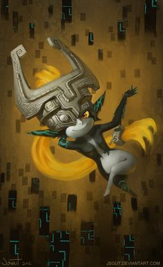 I loved Midna so much! I hope they bring her back, or at least the Twilight Realm. That was cool too.