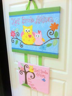 Owls and Trees Dena Happi TreeBabiesrus baby by MyClarksCreations, $48.00
