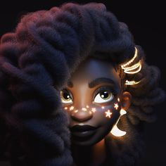 A Visual Collection Celebrating the Diversity of Women and the Work of Women Artists. - World People - Kunst Black Love Art, Black Girl Art, Black Girl Magic, African American Art, African Art, Black Girl Cartoon, Arte Sailor Moon, Black Art Pictures, Black Artwork