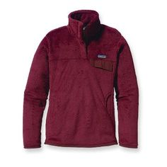Patagonia Women's Re-Tool Snap-T Pullover: I have this in Black & it is a Winter necessity. SO Warm!