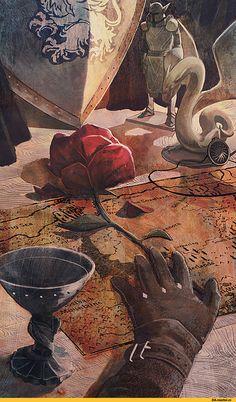 qissus,Алистер,DA персонажи,Dragon Age,фэндомы