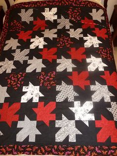 Great maple leaf quilt