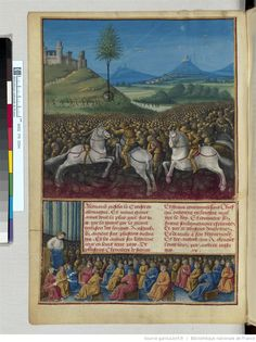 Titre : « Passages faiz oultre mer par les François contre les Turcqs et autres Sarrazins et Mores oultre marins », traité commencé à être rédigé à Troyes,