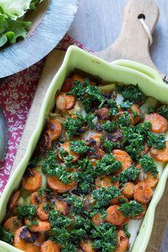Lasagnes aux légumes et pesto