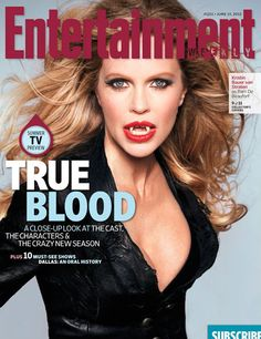 Volta de True Blood ganha 11 capas feitas pela revista Entertainment Weekly!