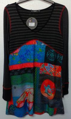 Je viens de mettre en vente cet article  : Robe tunique Anatopik 99,00 € http://www.videdressing.com/robes-tuniques/anatopik/p-5595451.html?utm_source=pinterest&utm_medium=pinterest_share&utm_campaign=FR_Femme_V%C3%AAtements_Robes_5595451_pinterest_share