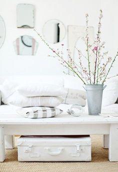 white, white, white, pink blossom = love