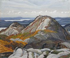 """La Cloche no. Franklin Carmichael, oil on board, 10 x Roberts Gallery. Franklin Carmichael, Tom Thomson, Group Of Seven, National Art, A Level Art, Canadian Art, Landscape, Gallery, Oil"