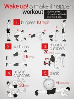 Easy to do at home workout.
