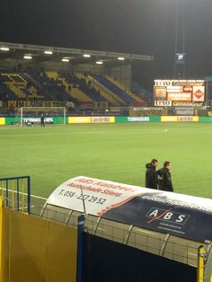 Cambuur Stadion in Leeuwarden, Fryslân