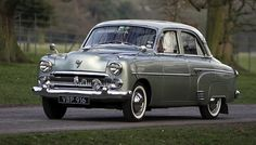 Vauxhall Velox - 1953 (also known as the English Ford)  My Grandad had a car like this