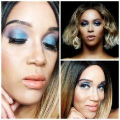 "Beyonce ""Mine"" Inspired Makeup| Makeup Tutorial"