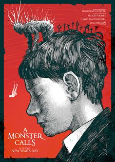 A Monster Calls by Luke Preece - Home of the Alternative Movie Poster -AMP-