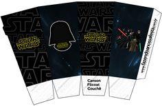 Caixa Pipoca Star Wars