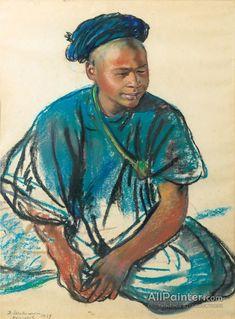 Zinaida Evgenievna Serebriakova Portrait Of A Young Moroccan Oil Painting Reproductions for sale Art Occidental, Academic Art, Art Database, Oil Painting Reproductions, Russian Art, Western Art, Figure Painting, Figure Drawing, Black Art