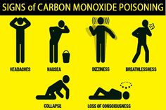 Signs of carbon monoxide poisoning. Always fit a carbon monoxide alarm. They are a small price to pay for keeping your family safe. Lone Worker, Workplace Safety, Security Guard, For Your Health, Anne, Chimney Sweep, Security Companies, Personal Safety, Scary Stuff