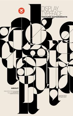 Ogaki typeface on the Behance Network typography inspiration. minimalist graphic design poster.