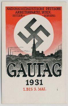 : Picture postcards and topics Third Reich Propaganda, Annexation of Austria, Nazi Propaganda, Ddr Brd, Grafic Art, German Stamps, Ww2 Posters, Political Beliefs, The Third Reich, Picture Postcards, World War Two