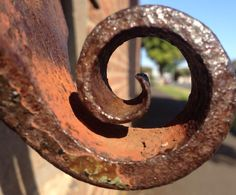 Latch to old gate at the back of the Geelong Gaol. #twistedhistory #geelonggaolghosttours