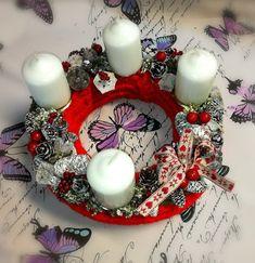 adventi_koszoru_fantazia7 Advent, Diy And Crafts, Bella, Check, Xmas