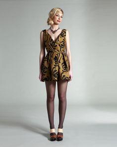 Sariah Fall 2009 dress.  Nanette Lepore coat.