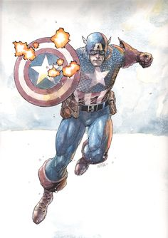 captain america 2 by leinilyu.deviantart.com on @deviantART