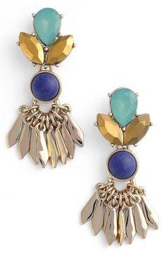 Striking drop earrings!