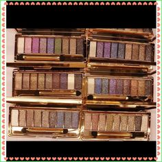 NEW LISTING 9 Bright Glitter Eyeshadow Palette New in package. 9 colors. Bright colorful makeup eyeshadow set. Glitter eyeshadow palette with brush & mirror. 6 different sets. Please let me know which one you like by set #. (3/25) Tamarismom Makeup Eyeshadow
