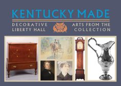 Postcard for the exhibit. 2nd Floor, Historical Sites, Exhibit, Art Decor, Home Decor, Kentucky, 19th Century, Liberty, Artist