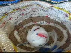 Very good tutorial video on Faster Way to Cut Plarn ( plastic yarn from old plastic bags)  to end up with long strips and make balls ALSO how to crochet with Plarn. Great FREE yarn to easy to learn to crochet  with! Make hats, bags, place mats, sleeping bag mats, baskets and more. Use up those plastic bags from the store and make them into something fun & useful.