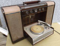 Crown SPH 100 Stereo Radio Phonograph  1963 made in Japan