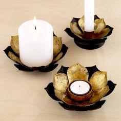 Lotus Candleholders, Sets of 2 | World Market