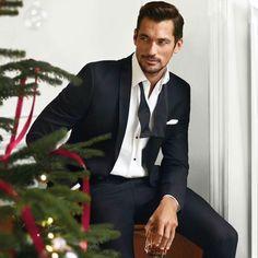 New || David Gandy for @marksandspencer Christmas 2016
