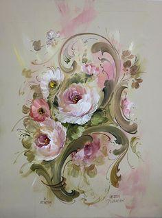 B5017 Rosemaling Inspirations - Jansen Art Store