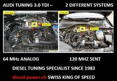 Diesel Tuning, Den Den, Audi