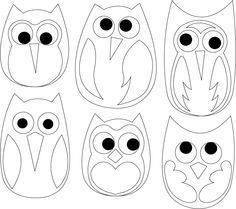 Owl templet from  http://3.bp.blogspot.com/_NqAXcVPoUpg/S8IiWiv0tUI/AAAAAAAAARs/yTKReRSgUko/s1600/Ugle-aplikation_001.jpg