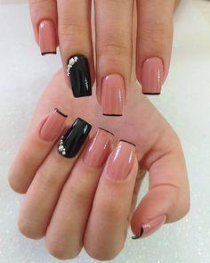 2019 Captivating Nail Art Designs Source by naloaded Cute Acrylic Nails, Cute Nails, My Nails, Hair And Nails, Cute Simple Nails, Cute Nail Art Designs, Simple Nail Designs, Pen Designs, Nail Art Pen