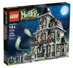 LEGO 10228 MONSTER FIGHTERS HAUNTED HOUSE HALLOWEEN NEW #LEGO
