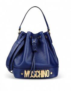 Secchiello blu Moschino