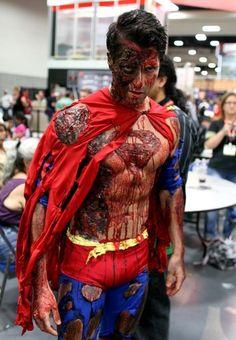 zombie superman #costume #cosplay