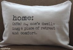 Raggy Girl Vintage is available at Spruce!   home dictionary definition pillow cover 16x24 in by raggygirl, $35.00