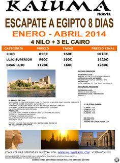 Escapate a Egipto 8 dias ultimo minuto - http://zocotours.com/escapate-a-egipto-8-dias-ultimo-minuto/