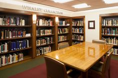 CIA Library reading room